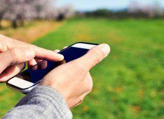 telefono celular adquirir terreno