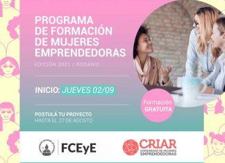 capacitacion criar mujeres emprendedoras