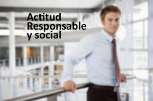 Actitud empresaria responsable