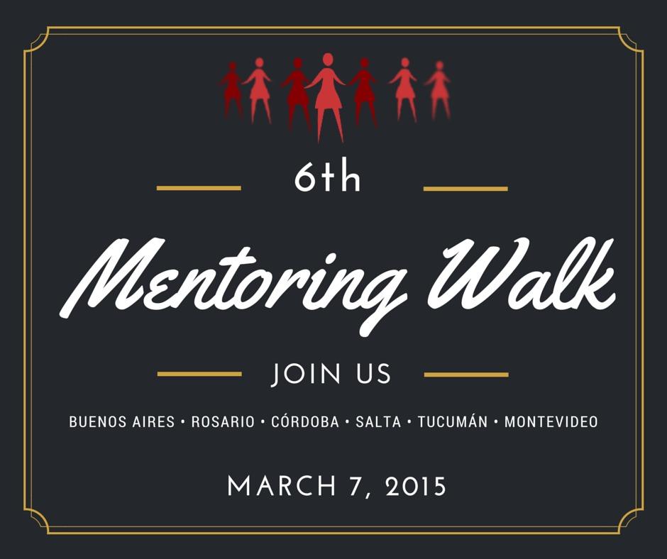 Caminata de Mentoreo en Rosario Mentoring Walk