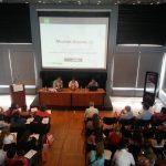 """Matías Carrillo exponiendo """"Comunicación estratégica y medios"""""""