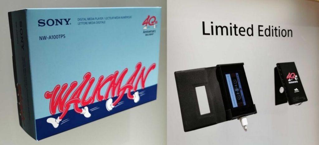 Walkman 40 aniversario