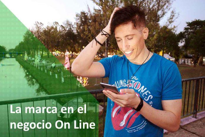 marca on line negocio virtual