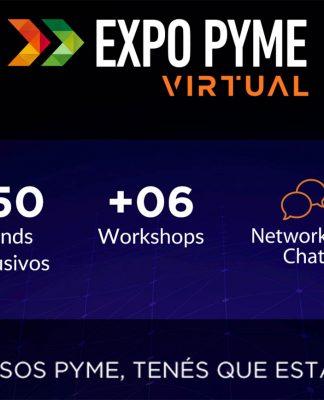 Entradas para expo pyme virtual 2020