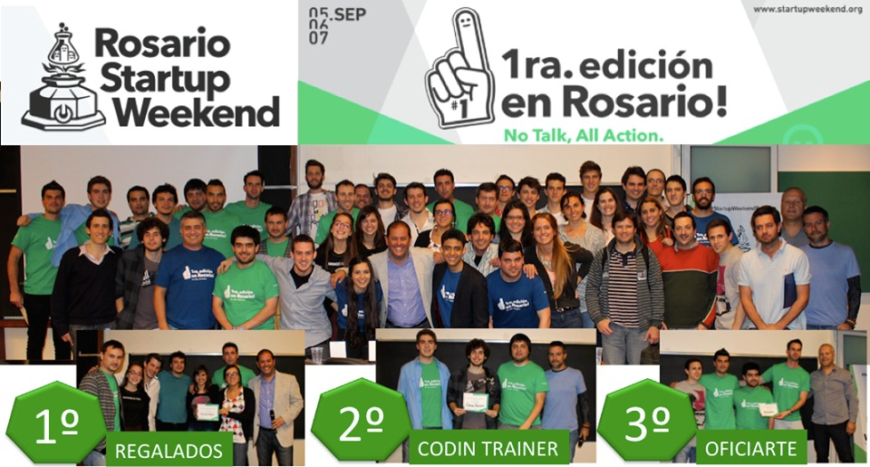 Gran experiencia para emprendedores Start up weekend en Rosario