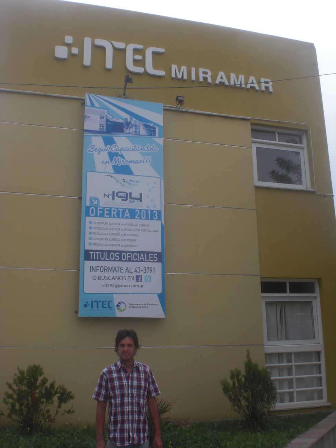 ITEC Instituto Superior de Formación Técnica Miramar