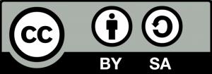 Logo creative commons licencia para compartir