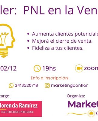 talle de Marketing con Flor
