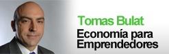 Tomas Bulat economia para emprendedores