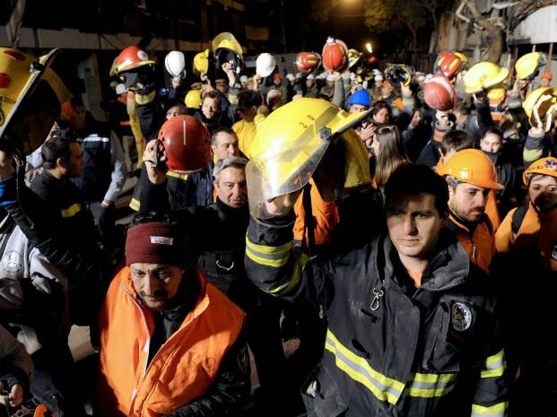 bomberos voluntarios rosario