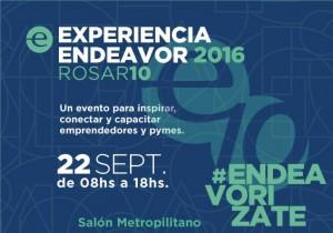 decima experiencia endeavor Rosario 2016